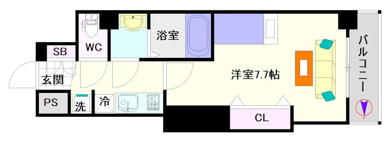 Luxe難波西Ⅰ