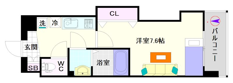 Luxe難波西Ⅲ